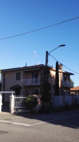 Installazione canna fumaria per stufa a pellet marchio Ravelli 09 esterno